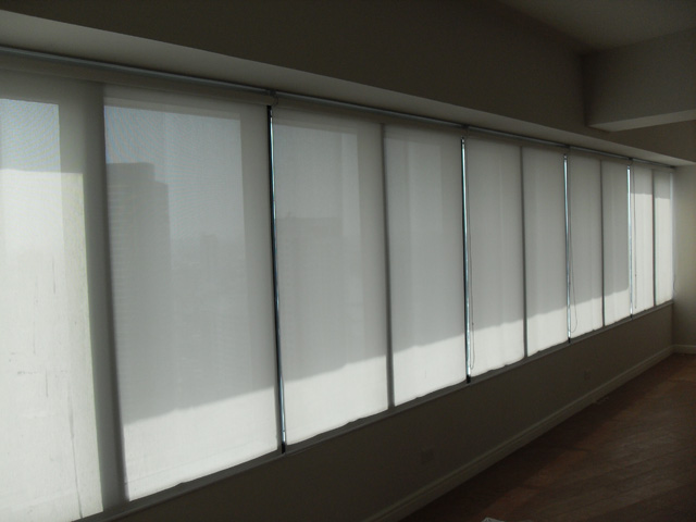 Roller Blinds at Rockwell Center One Makati Philippines