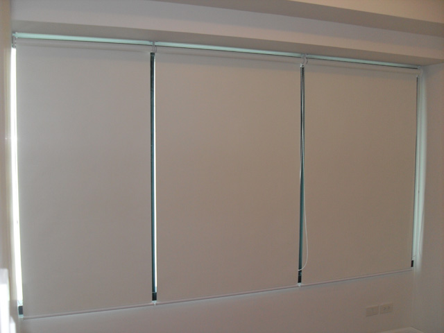Roller Blinds Installed in Rockwell Makati City