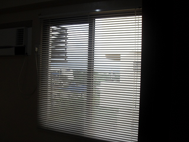 Venetian Blinds Installed at Redwoods Condo, Quezon City, Philippines