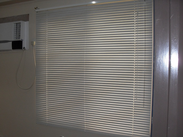 Installed Venetian Blinds at Redwoods, Fairview Quezon City