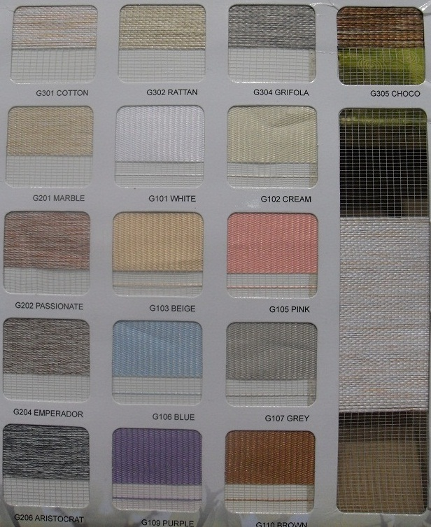 Color Options for Combi Double Shade