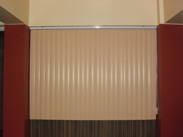 PVC Vertical Blinds ( CC06 Peach )