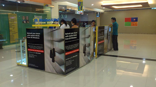 New Showroom at Robinsons Metro East, Pasig City