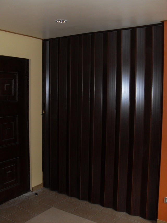PVC Accordion Door Installation at Quezon City, Philippines