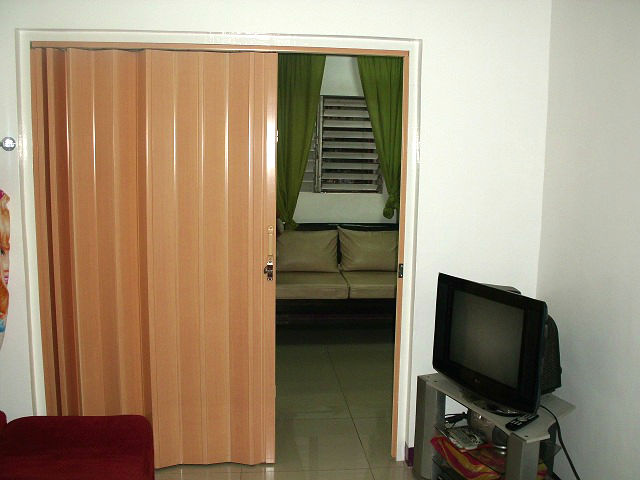 Installation of Accordion Door at Taguig City, Philippines