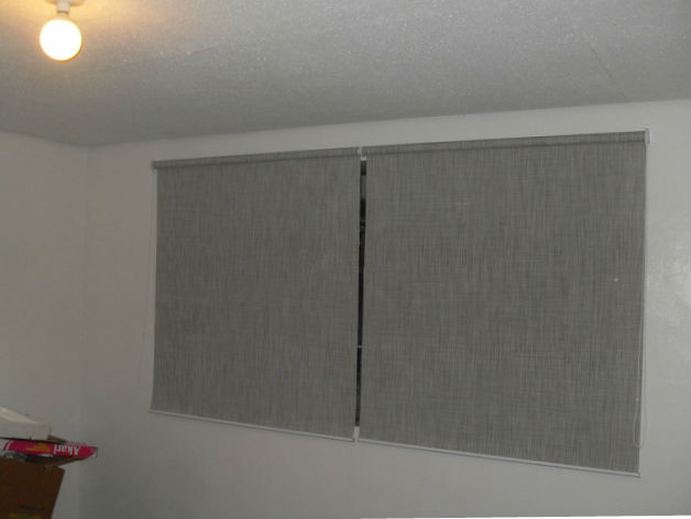 Blackout Roller Blinds: C7009 Grey