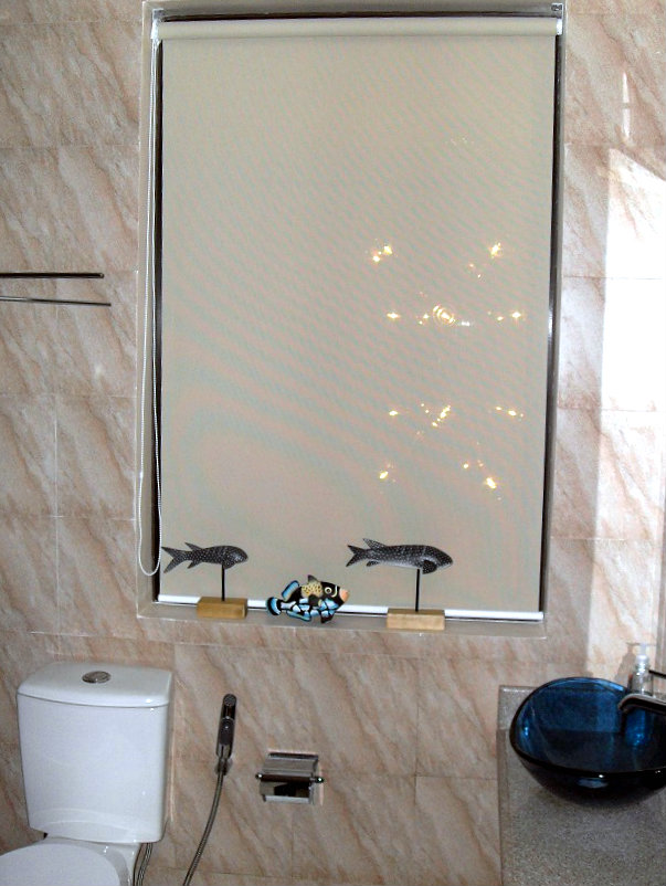 Roller Blinds Installed at Las Piñas City, Philippines