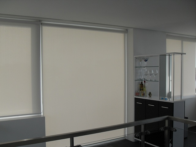 Roller Shades For Relaxing And Scenic Beach House