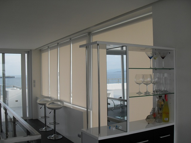 Sunscreen Roller Blinds Installation at Cavite, Philippines