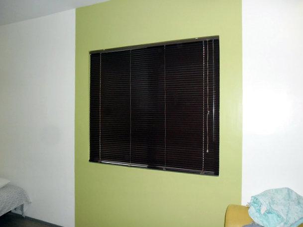"Mini Blinds ""Wenge"" Installed at Pasay City, Metro Manila, Philippines"