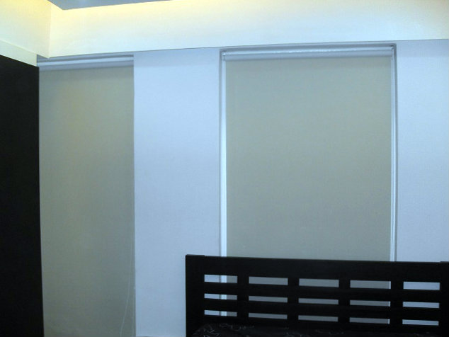 Roller Blinds Blackout Installed at Estrella, Makati City, Philippines