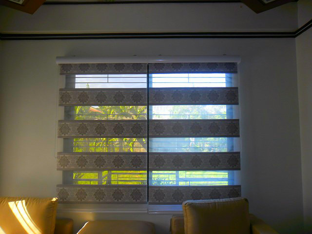 Installation of Stylish and Beautiful Combi Blinds at Tondo Manila, Philippines