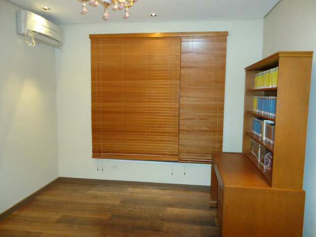 "Wooden Blinds "" Cherry "" Installed at Pasig City, Philippines"