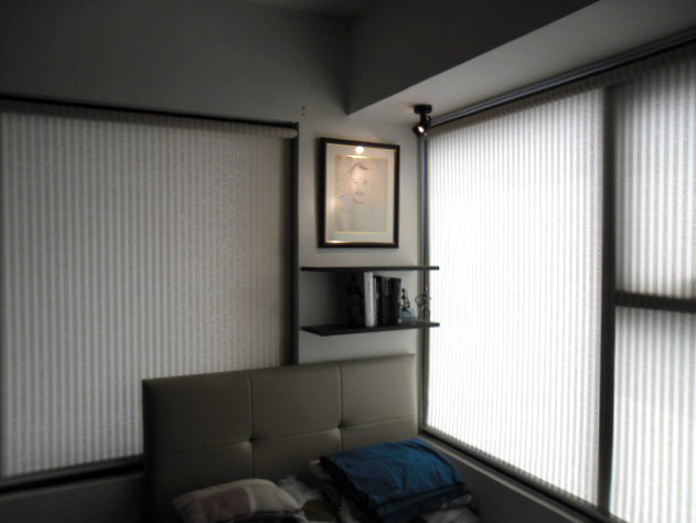 Sunscreen Roller Blinds Installed at Estrella, Makati City, Philiipines