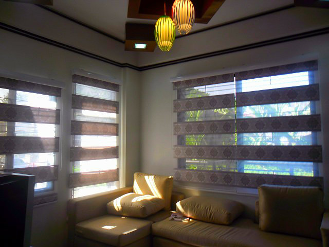 "Combi Blinds "" P703 L. Beige"" Installed at Tondo Manila, Philippines"