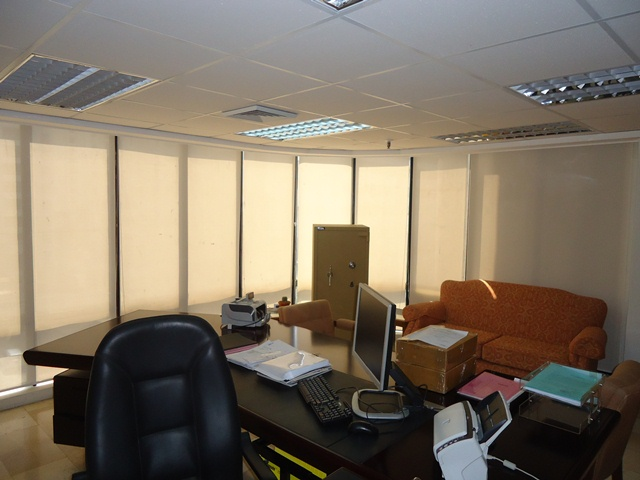 Installed Roller Shades in Makati City, Philippines