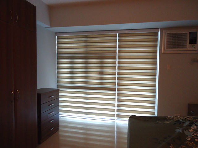 "Combi Blinds ""H501 Ivory"" Installed in Parañaque City, Philippines"