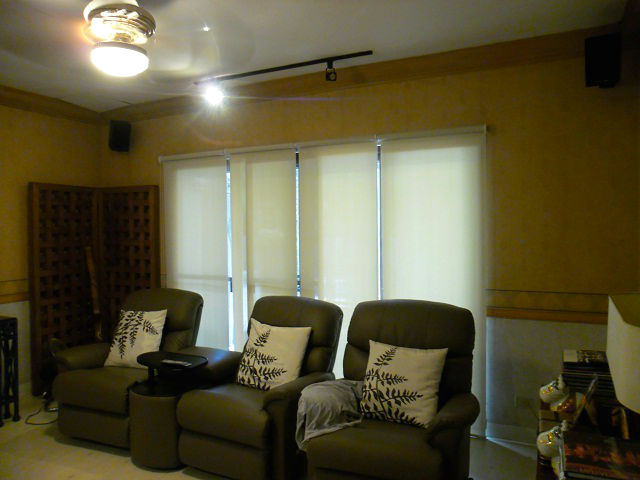 Roller Blinds Installed in Pasig City, Philippines