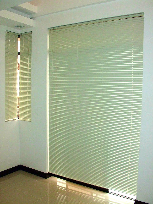 "Installation of Mini Blinds ""Sand White"" at Taguig City, Philippines"