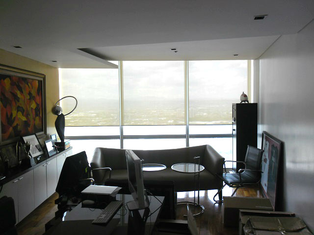 Installation of Roller Blinds in Ortigas Center, Pasig City