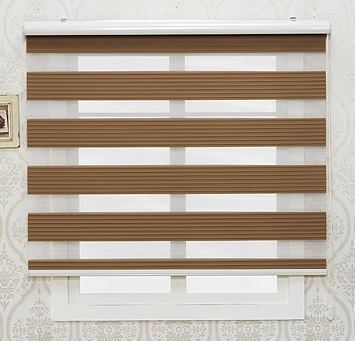 Pleated Design Combi Blinds