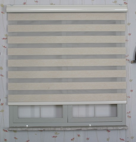 Normal opaque and sheer part of Combi Blinds