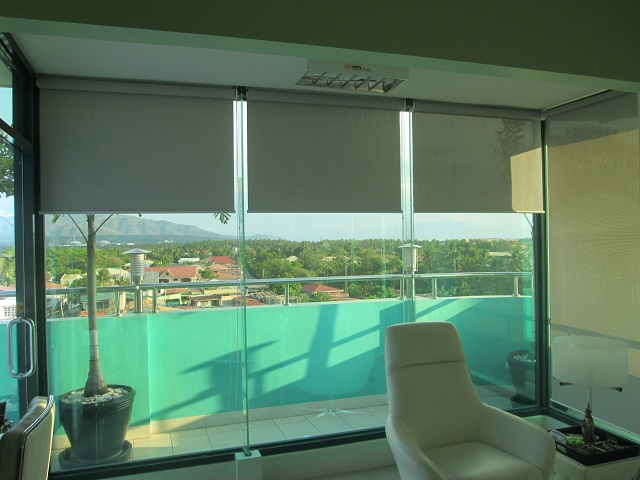 Beige Roller Blinds for a more Relaxing Look
