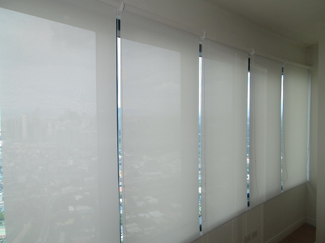Roller Blinds Installed in Rockwell, Makati City