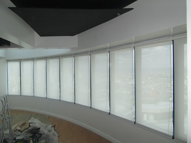 Sheer Shade Roller Blinds for Workplace in Makati City