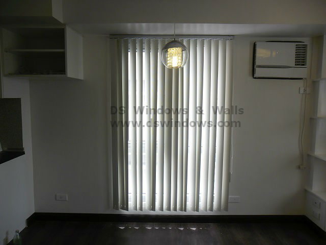 Installed PVC Vertical Blinds in Las Pinas City