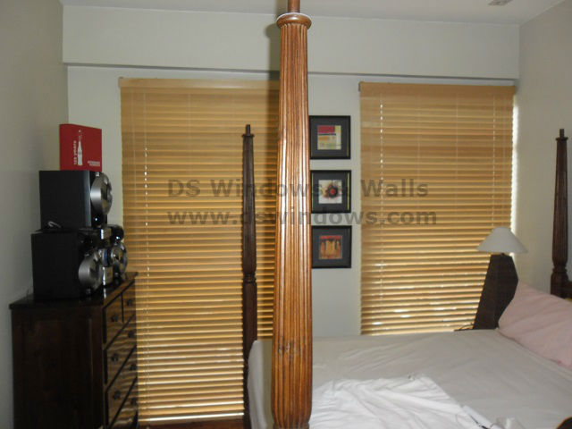 Wood Blinds in Sta. Rosa, Laguna, Philippines