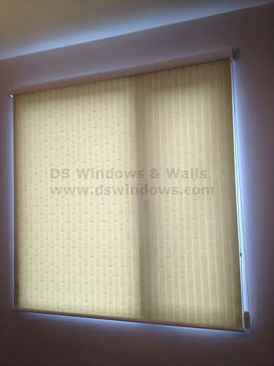 Beautiful Pattern of Roll Up Shades