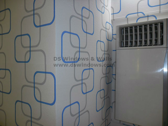 Affordable and Durable Vinyl Wallpaper Installed in West Crame, san Juan City