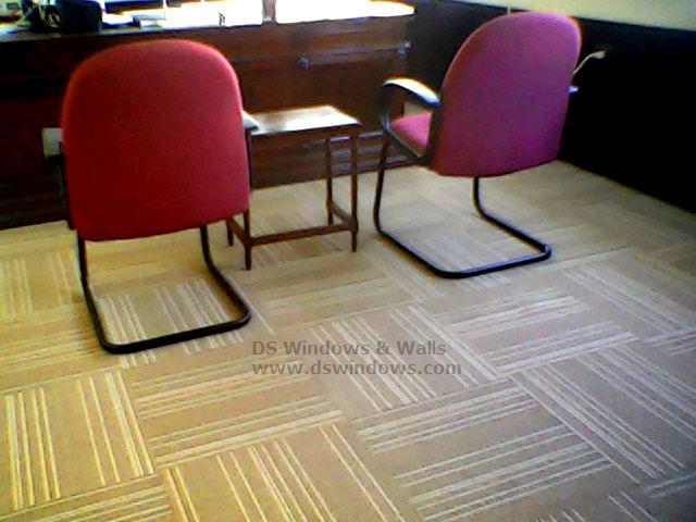Carpet Tile Installed