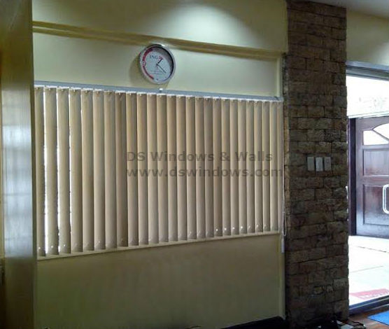 PVC Vertical Blinds Suitable for Heavily Flooded Areas