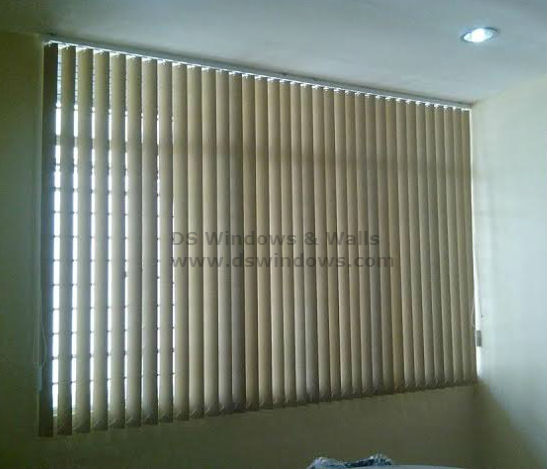 Affordable and Durable PVC Vertical Blinds