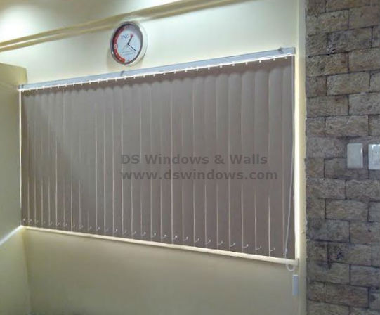 PVC Vertical Blinds in Shaw Boulevard, Pasig City, Philippines