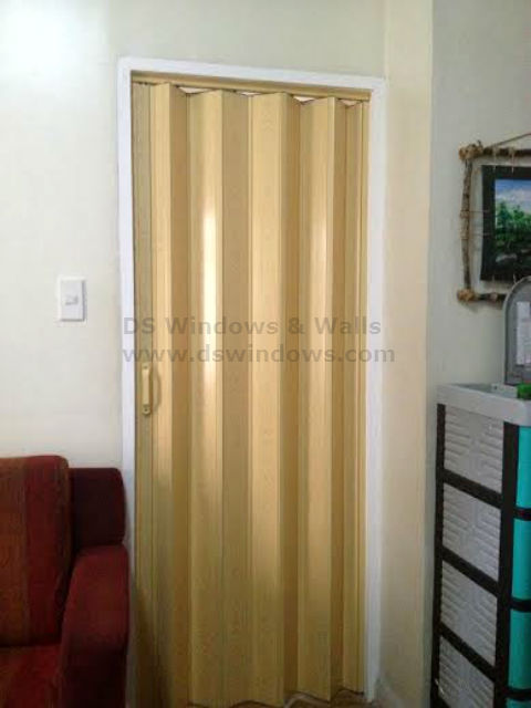 Accordion Door For Your Simple And Small Home In Bf Homes