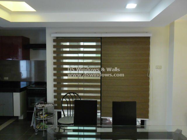 Combi Blinds Installed in Malabon City, Philippines
