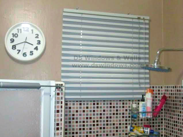 2a Venetian Blinds in Creating a Beautiful Bathroom in a Limited Space and Budget: Valenzuela City, Philippines