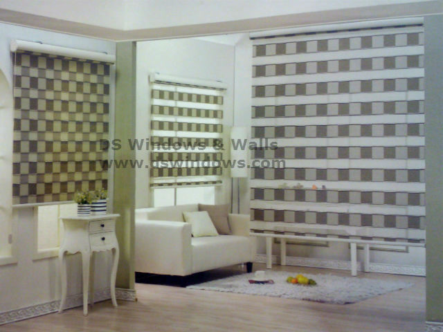 Combi Blinds Checker Design in Pasig City Different Designs of Combi Blinds in Pasig City, Philippines