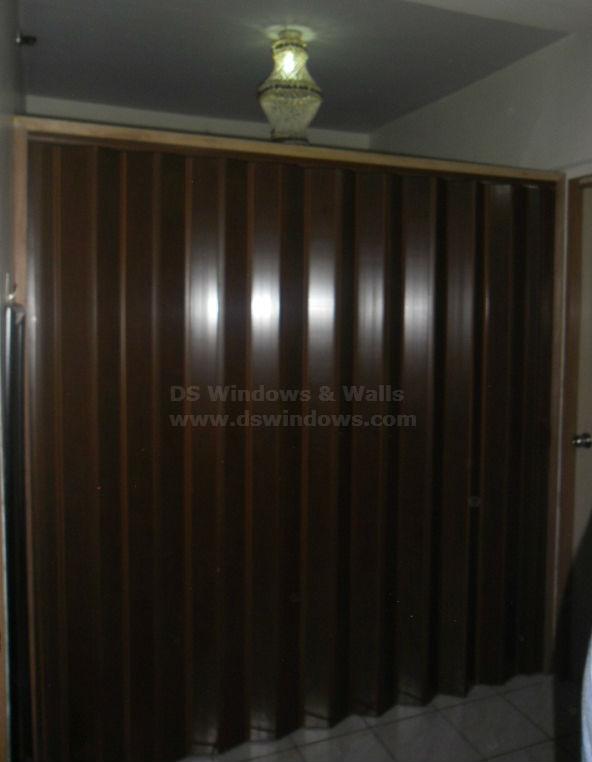 PVC Folding Door Installed in San Pablo Laguna