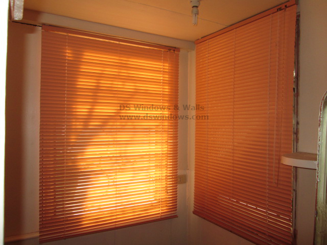 Aluminum Mini Blinds Installed in Shaw Blvd. Mandaluyong.