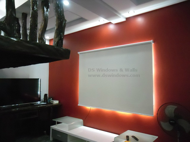 Roller Blinds Installed in Alaminos, Pangasinan