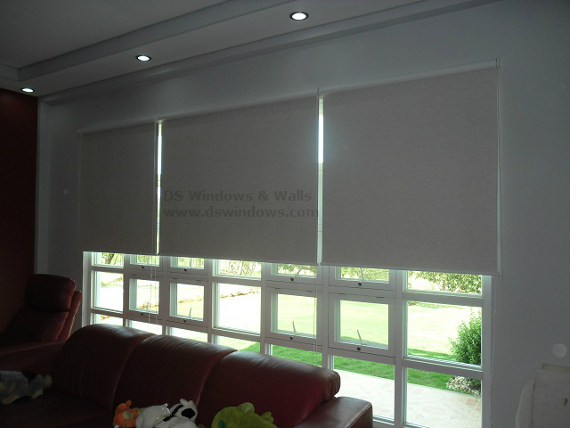Roller Blinds Installed in the Living Room - Alaminos City, Pangasinan