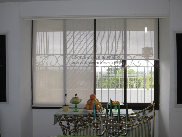 Sunscreen Roller Blinds Installed n Boracay