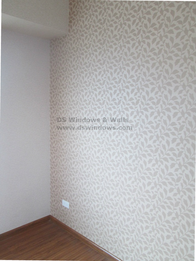 Wallpaper Installed in the Bedroom - Rosario, Pasig
