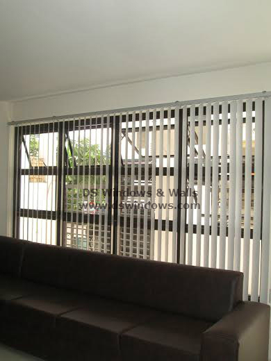 Affordable and Beautiful PVC Vertical Blinds