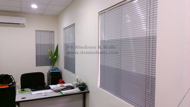 Horizontal Blinds installed in Pasig
