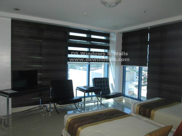 Unique Design of Combi Blinds for Window & Glass Wall